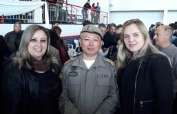Entrega de pedido para aumento do  Efetivo da Brigada Militar no Município