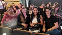 EQUIPE DA PRIMEIRA INFÂNCIA MELHOR PARTICIPA DE SEMINÁRIO INTERNACIONAL