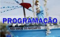 FESTA DOS NAVEGANTES - PROGRAMAÇÃO