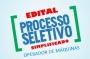 EDITAL DE PROCESSO SELETIVO SIMPLIFICADO - OPERADOR DE MÁQUINAS