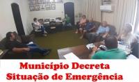 MUNICÍPIO DECRETA SITUAÇÃO DE EMERGÊNCIA