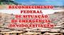 RECONHECIMENTO FEDERAL DE SITUAÇÃO DE EMERGÊNCIA DEVIDO ESTIAGEM