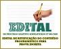 EDITAL DE RETIFICAÇÃO DO CONTEÚDO PROGRAMÁTICO PARA PROVA ESCRITA