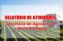 Relatório das Atividades Desenvolvidas pela Secretaria de Agricultura e Meio Ambiente – Abril 2020