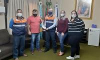Município entrega Prestação de Contas à Defesa Civil