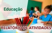 RELATÓRIO DAS ATIVIDADES DESENVOLVIDAS PELA SECRETARIA DA EDUCAÇÃO - MAIO 2020