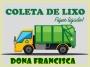 Dias da Coleta de Resíduos na Cidade e no Interior de Dona Francisca/RS