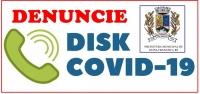 DENUNCIE! DISK COVID -19