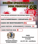 BOLETIM EPIDEMIOLÓGICO 08 - COVID 19