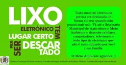 INFORMATIVO COLETA DE ELETRÔNICOS