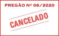 PREGÃO PRESENCIAL CANCELADO