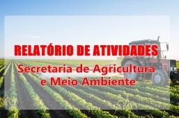 RELATÓRIO DE ATIVIDADES- AGRICULTURA E MEIO AMBIENTE- AGOSTO 2020