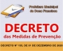 DECRETO Nº 155 DE 01 DE DEZEMBRO DE 2020