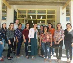 Professores Municipais estiveram presentes na Unidade de Educação Infantil da Universidade Federal de Santa Maria