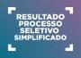 Resultado Final do Edital de Processo Seletivo Simplificado 01/2018