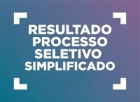 Resultado Final do Edital de Processo Seletivo Simplificado 02/2018