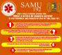 Em caso de URGÊNCIA e EMERGÊNCIA, chame o Samu 192