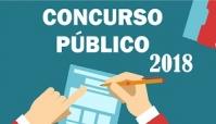 EDITAL Nº 01/2018 - ABERTURA CONCURSO PÚBLICO