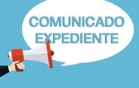 COMUNICADO DE EXPEDIENTE