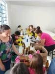 Alunos da Escola Municipal de Ensino Fundamental Tiradentes Recebe Visita para Trabalhos de Reciclagem