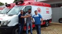 Município Recebe Nova Ambulância SAMU