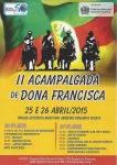 II Acampalgada de Dona Francisca